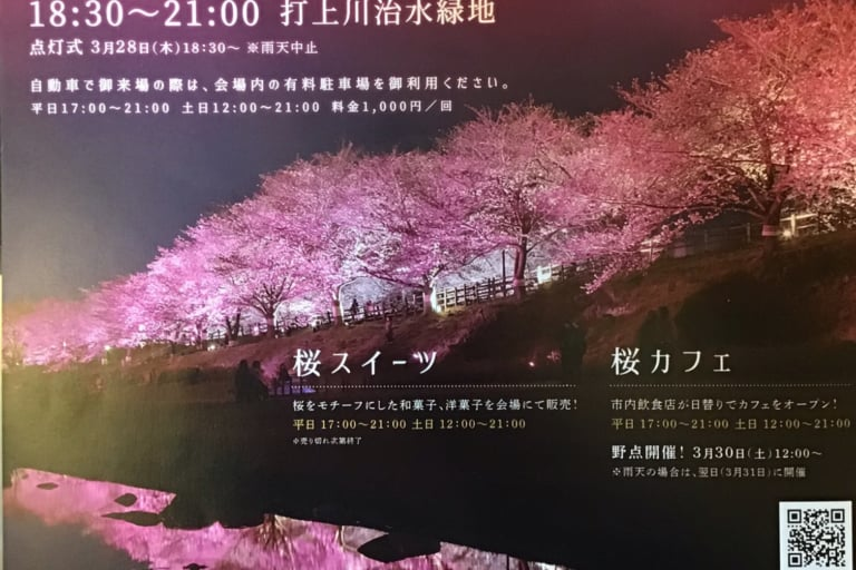 2019お花見 寝屋川さくらプロジェクト開催